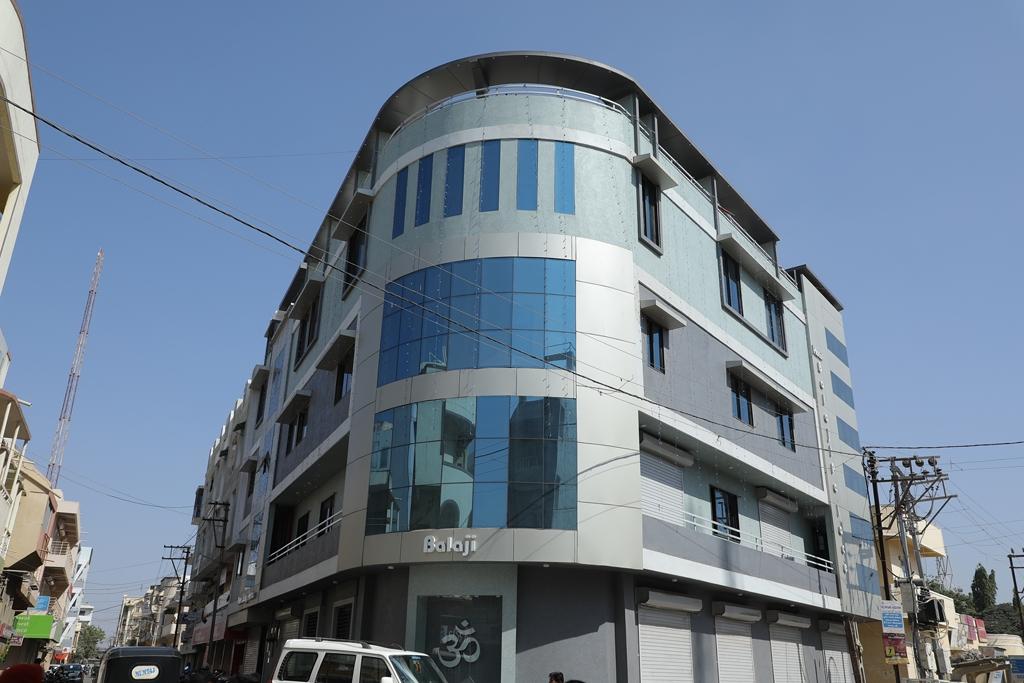 Hotel Balaji Palace Front View